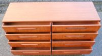 Long Teak Double Chest of Drawers by G-Plan